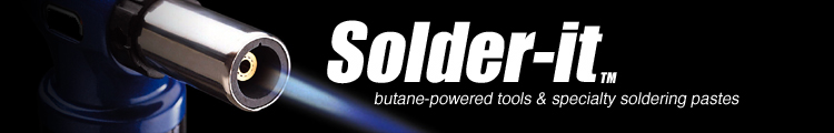 Butane- Powered- tools & Specialty soldering pastes